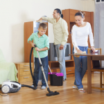 Cleaning as a Family